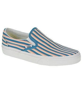 b147e71770 Vans Classic Slip-On Shoes - Multi Stripes Teal Peach Nectar -  blackcomb-shop.eu