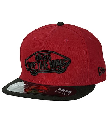 kšiltovka Vans Home Team New Era - Red Black  6c823a13d4