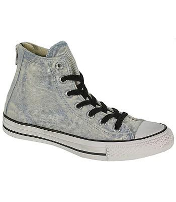 ab8a78ae3b6e shoes Converse Chuck Taylor All Star Back Zip Hi - 146989 Light Blue Converse  Black Converse White - snowboard-online.eu