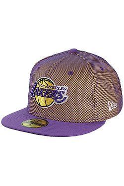 kšiltovka New Era 59F Mesh Crown NBA Los Angeles Lakers - Official Team  Colour ... 4347c166fe