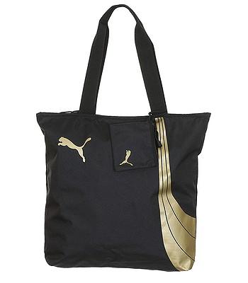 8d9538621bbda torba Puma Fundamentals Shopper - Black - blackcomb-shop.pl