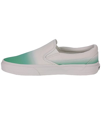 a154bcb2cd5dde Vans Classic Slip-On Shoes - Dip Dye Mint True White. No longer available.