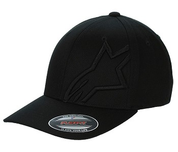 kšiltovka Alpinestars Corp Shift 2 Flexfit - Black/Black