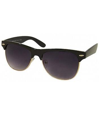 okuliare Ray Flector W2600 Classic Modern Clubmaster - Black Gold Metal 59376a0cc4f