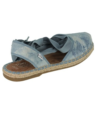 7270da8717f Toms Bella Espadrille Sandals - Skyway Blue Washed Suede ...