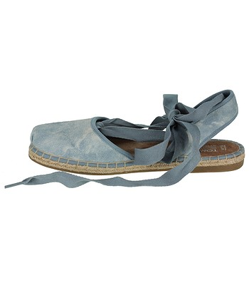 aa5ca07f382 Toms Bella Espadrille Sandals - Skyway Blue Washed Suede. No longer  available.