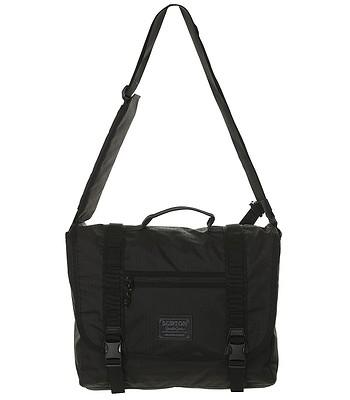 eed5ff939347a Burton Flint Messenger Bag - True Black Triple Ripstop - blackcomb-shop.eu