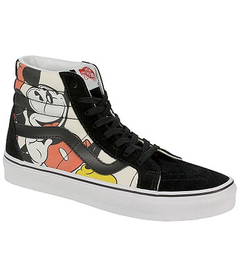 boty Vans Sk8-Hi Reissue - Disney Mickey   Friends Black  174c8328e39