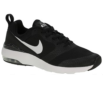 3ed8e9b556c boty Nike Air Max Siren - Black White Metallic Silver - boty-boty.cz -  doprava zdarma
