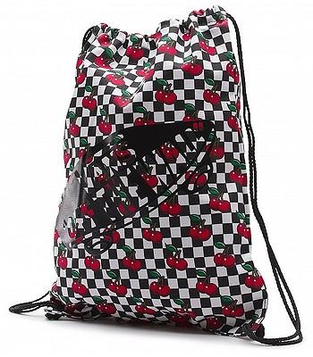 vak Vans Benched Novelty - Cherry Checker Black True White ... 0c6be866de0