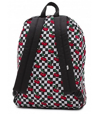 72399d8667 plecak Vans Realm - Cherry Checker Black True White - snowboard-online.pl