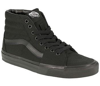 boty Vans Sk8-Hi - Black/Black/Black