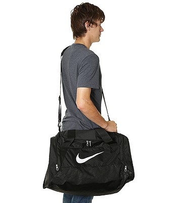 0cf5c0011f taška Nike Brasilia 6 Small - 001 Black Black White