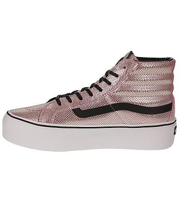 shoes Vans Sk8-Hi Platform - Metallic Snake Pink Black. No longer available. 594bad746