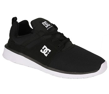 boty DC Heathrow - Black/White