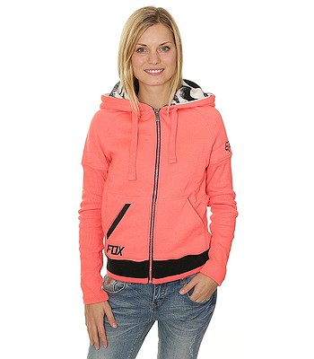 mikina Fox Perimeter Polar Zip - Acid Red  ee2bf4a6904