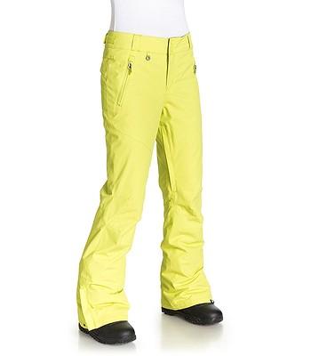14e89f067a5d kalhoty Roxy Winter Break - GEN0 Limeade
