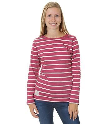 tričko Brakeburn Yarn Dyed Stripe LS - Malaga Ecru  e536ab682ab