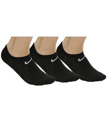 ponožky Nike Value No Show 3 Pack - 001 Black White - snowboard ... 6e837e4367
