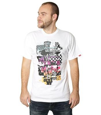 tričko Vans OTW Checker Blaster - White  d7531b6f7a5