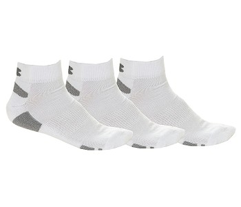 1490cfed844 PONOŽKY UNDER ARMOUR HEATGEAR LO CUT 3 PACK - 100 WHITE - skate ...