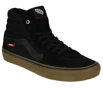 0bec9ce86ba9 TOPÁNKY VANS SK8-HI PRO - BLACK GUM - skate-online.sk