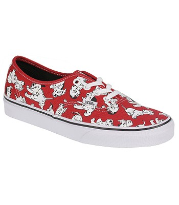 boty Vans Authentic - Disney Dalmatians Red  eda3f30012