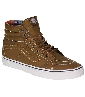 0ae112ad00a Vans Sk8-Hi Reissue Shoes - Leather Brown Guate - snowboard-online.eu