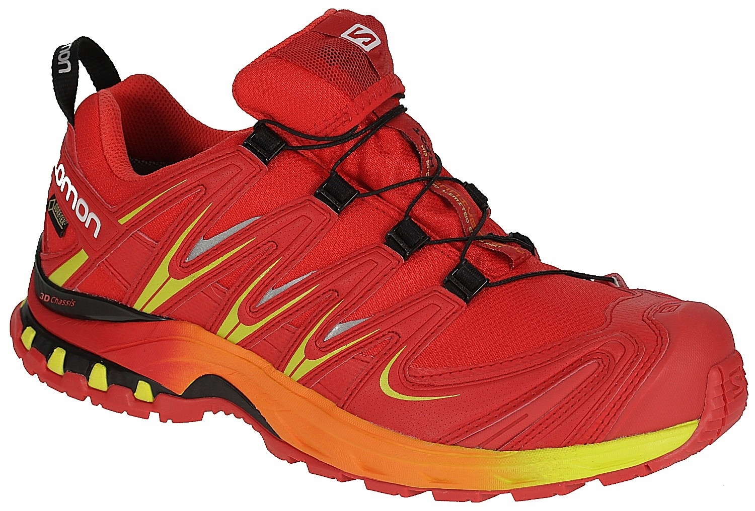 SalomonXA PRO 3D GTX - Trail running shoes - red dahlia Py6ugfRsYz