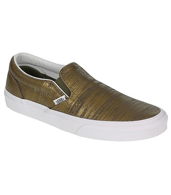 34fb9f7550 shoes Vans Classic Slip-On - Brushed Metallic Gold - snowboard-online.eu