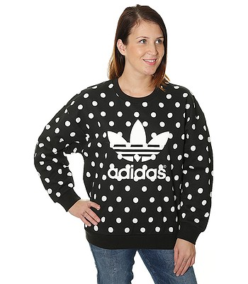 mikina adidas Originals Trefoil - Black Core White - snowboard-online.sk 4f0b877ffa1