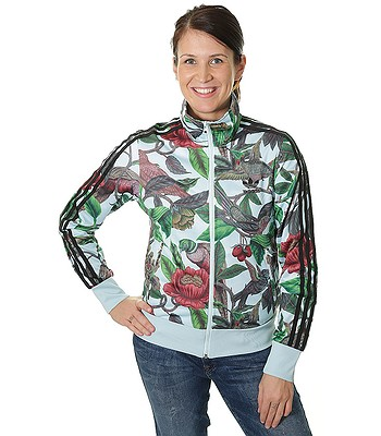 mikina adidas Originals Florera Battle Of The Birds Zip - Multicolor ... 8115c039bd4