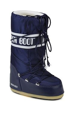 boty Tecnica Moon Boot Nylon - Blue ... 0c6577ede9
