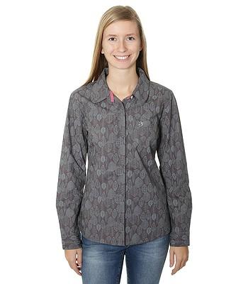 ad46ea5dff52 košile Brakeburn Sketchy Leaves LS - Rabbit Gray