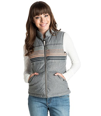 kamizelka Roxy Freedom Stripe - KPGH Charcoal Heather ... 830c34d2723