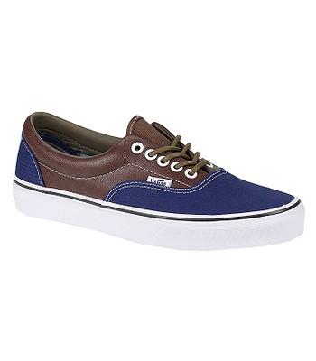 582f4246a2 Vans Era Shoes - Leather Plaid Estate Blue Potting Soil -  snowboard-online.eu