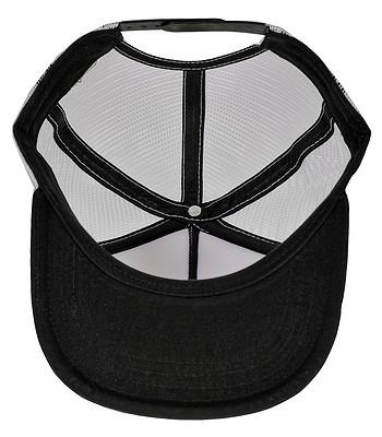 680ee7d73f0d6 czapka z daszkiem Vans Beach Girl Trucker - Dolphin Beach Black True White  - snowboard-online.pl