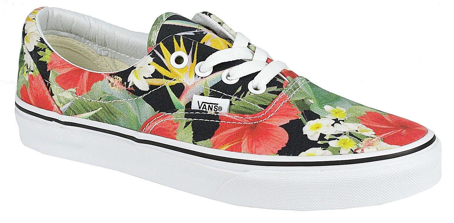 vans era digi aloha mens skate shoes
