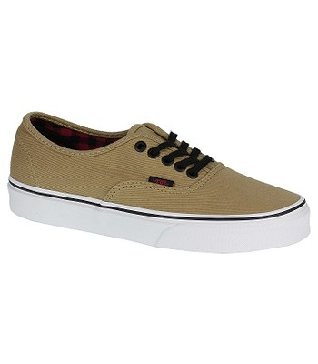 80f8a385ce031e shoes Vans Authentic - Twill   Gingham Cornstalk Black - blackcomb-shop.eu