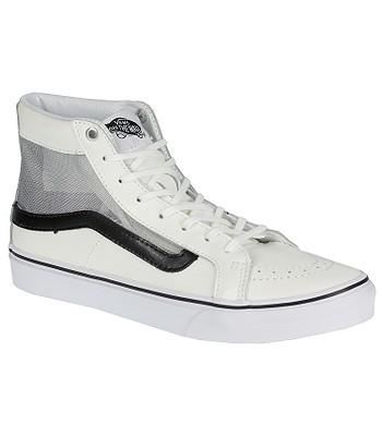 847458e162 Vans Sk8-Hi Slim Cutout Shoes - Mesh White Black - snowboard-online.eu