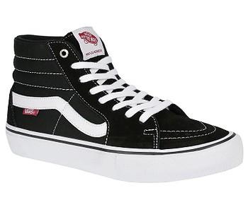 18fcf37bb30 boty Vans Sk8-Hi Pro - Black White - boty-boty.cz - doprava zdarma