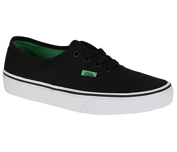 730994b49fb BOTY VANS AUTHENTIC - SPORT POP BLACK KELLY GREEN - skate-online.cz