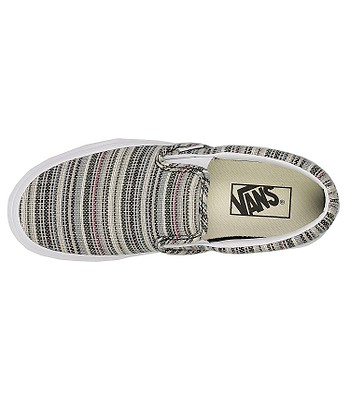 65abe59e394e shoes Vans Classic Slip-On - Textile Stripes Balsam True White. No longer  available.