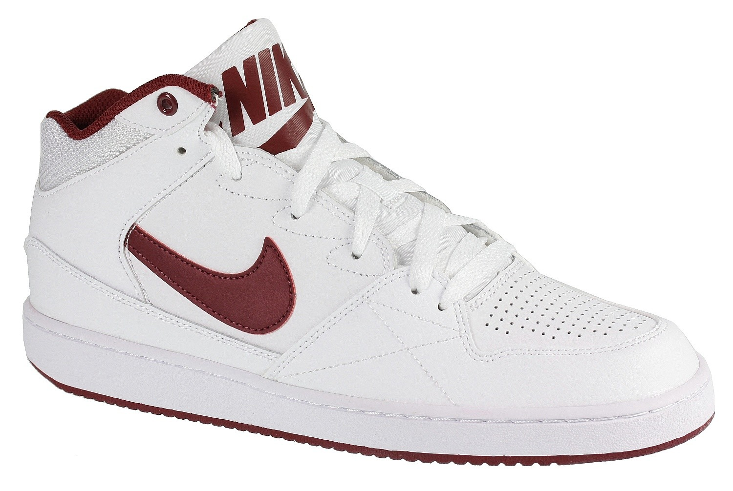 Schuhes Nike Priority Mid Team ROT Weiß snowboard online.eu