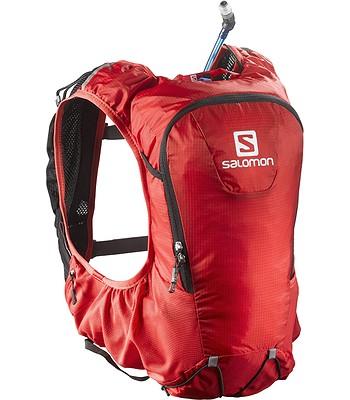 58eb5780740 batoh Salomon Skin Pro 10 Set - Bright Red Black - batohy-online.cz