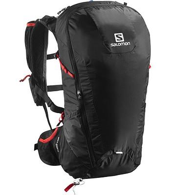 fcac7e98aaa batoh Salomon Peak 30 - Black Bright Red