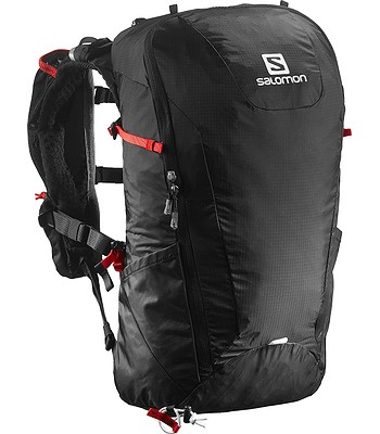 d84583dd214 batoh Salomon Peak 20 - Black Bright Red