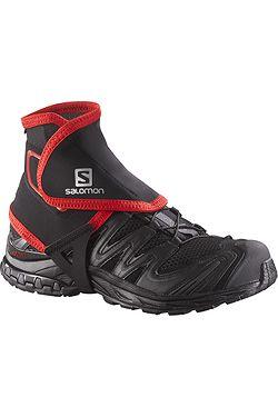 návleky Salomon Trail Gaiters High - Black ... d06a87bfc51