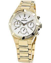 hodinky Meoris Excellence YG - Steel Gold 3bdb1862151