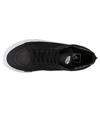 be24599122 shoes Vans Sk8-Hi Reissue Zip - Premium Leather Black True White. IN STOCK  -40%
